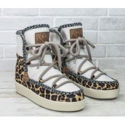 Bota Wilda Wedge Leopard Dolfie