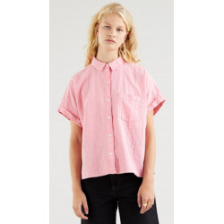 Camisa Laney Ss Button Down Peony Levis