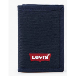 Cartera Batwing Trifold Navy Levis