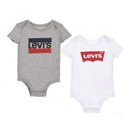Pack Bodies Logo Baby T.3-36m Levis